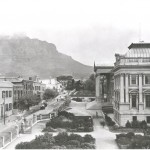Cape Town heritage -the Victorian parliament building for the Cape colony parliarment of south africa