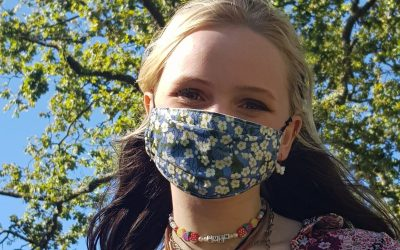Comfy, well-made masks – Liberty print or African