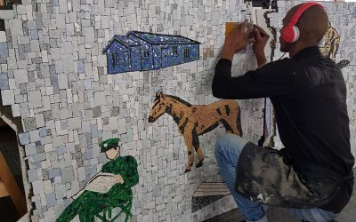 Cape Town's creativity – mosaic and fine art beading studios, Thurs 8 Oct 2020