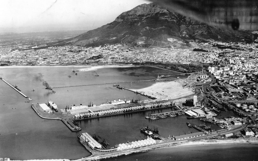 Cape Town's Docks by Brian Ingpen, Tues 20 Oct, 1-2pm