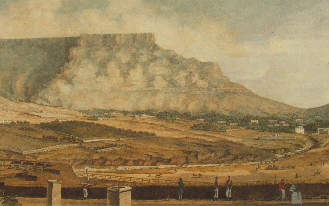"Lady Anne Barnard ""locked-in"" Cape Town"